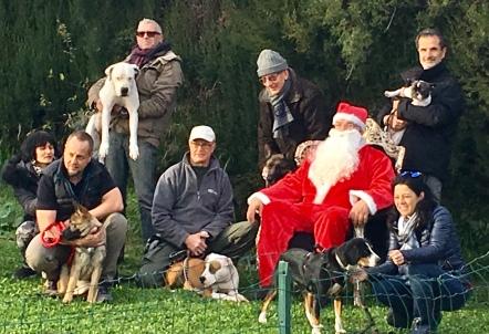Le père Noel et la meute