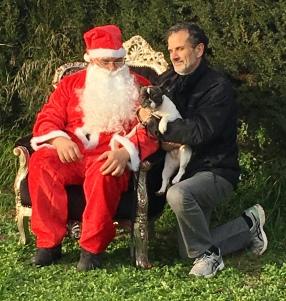 Le père Noel, mon père et moi